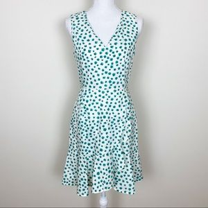 Rebecca Taylor Emerald daisy print dress